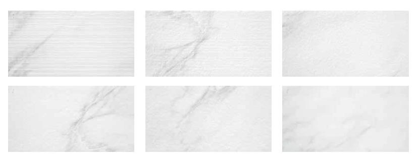 "Rocersa Kea White relief deco   12""x24"" -6 PC/CTN (11.82 SF); 40 CTN/PLT"