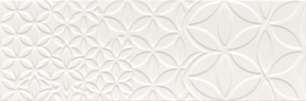 "Bestile - Retro Blanco Glossy Deco 9.8""x29.5"" ceramic  6 PC/CTN (12.16 SF); 64 CTN/PLT"