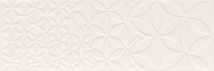 "Bestile - Retro Blanco Matte Deco 9.8""x29.5"" ceramic  6 PC/CTN (12.16 SF); 64 CTN/PLT"