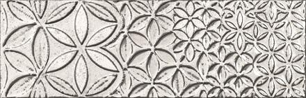 "Bestile - Retro Vintage Blanco Glossy Deco 9.8""x29.5"" ceramic  6 PC/CTN (12.16 SF); 64 CTN/PLT"