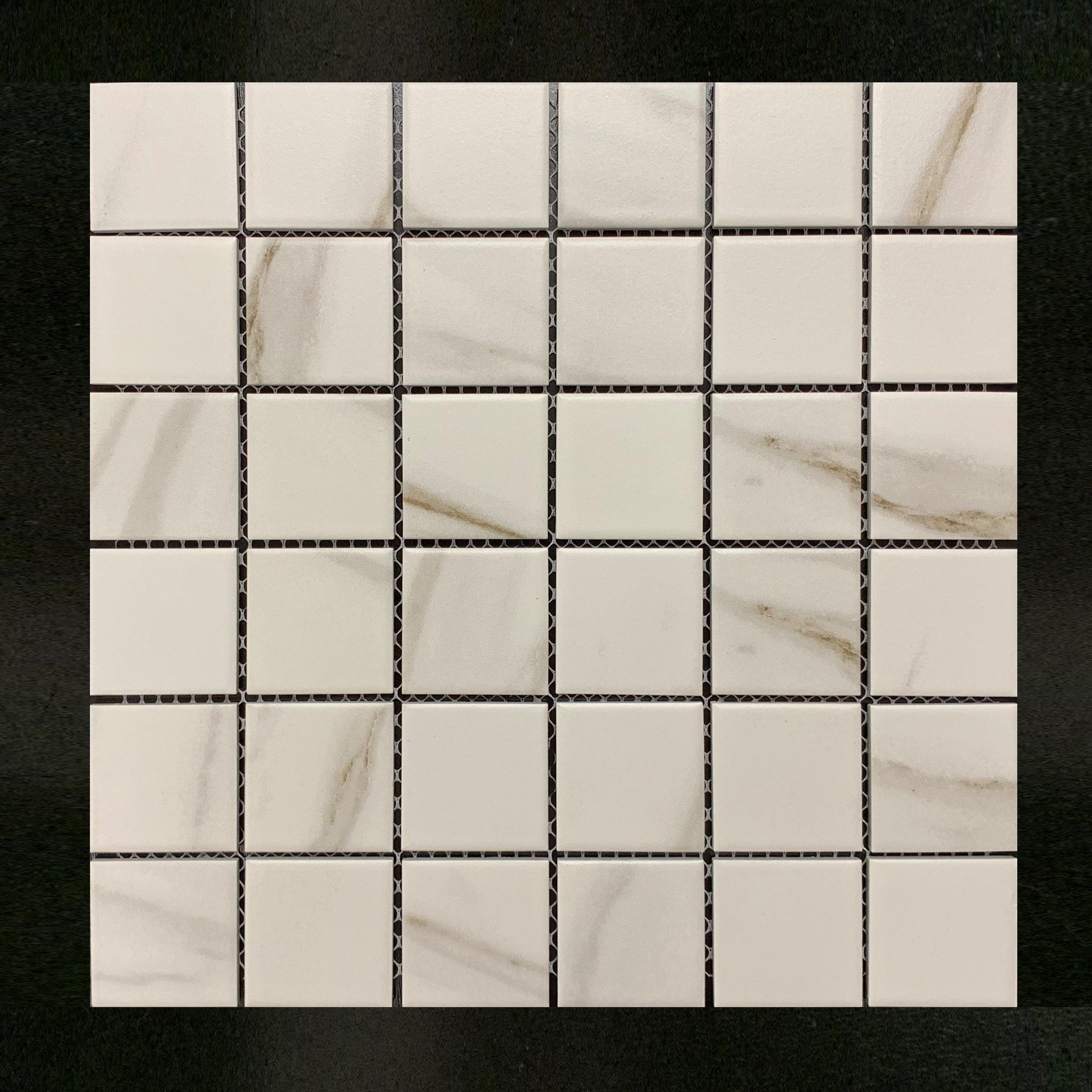 """STMOS 2X2CARB - 2""""X2"""" Carrara Beige matte  20 PC/CTN (20.16 SF); 54 CTN/PLT"""