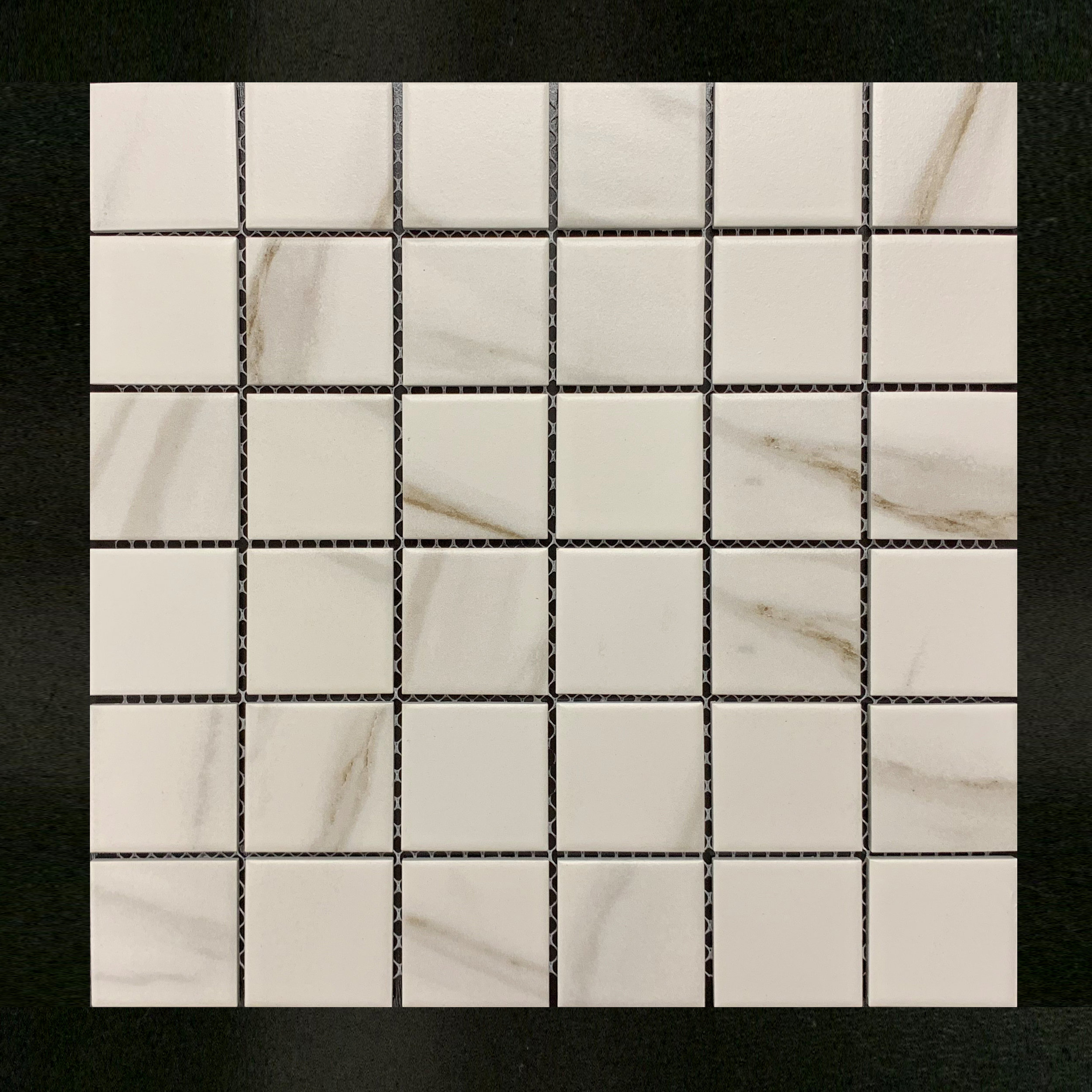 "Stone Srs 2""x2"" Carrara Beige"
