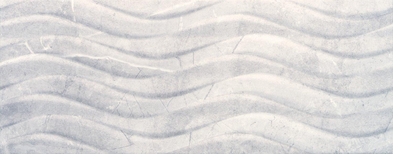 "Buckingham Azul 8""x20"" Bend Deco glossy ceramic   14 PC/CTN (15.07 SF); 48 CTN/PLT"