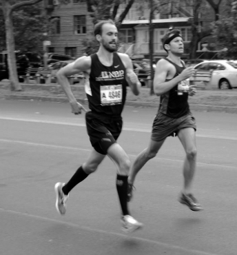 Steve StoweTreasurer - Joined NBR: 2011Why I joined: Relive the glory yearsWhat I love about NBR: Extroverted introverts welcoming everyone to the most competitive, accepting, socially and culturally distinctive NYRR clubFavorite Race Distance: Half marathonFavorite Race: I would marry the Brooklyn Half. we only dated once, in 2017, but it was enoughBest Running Memory: Watching Steve Fahmie unleash a series of right hooks into a van that made the mistake of making that left turn a bit too aggressivelyFun Fact: I do not run with a watch of any kind