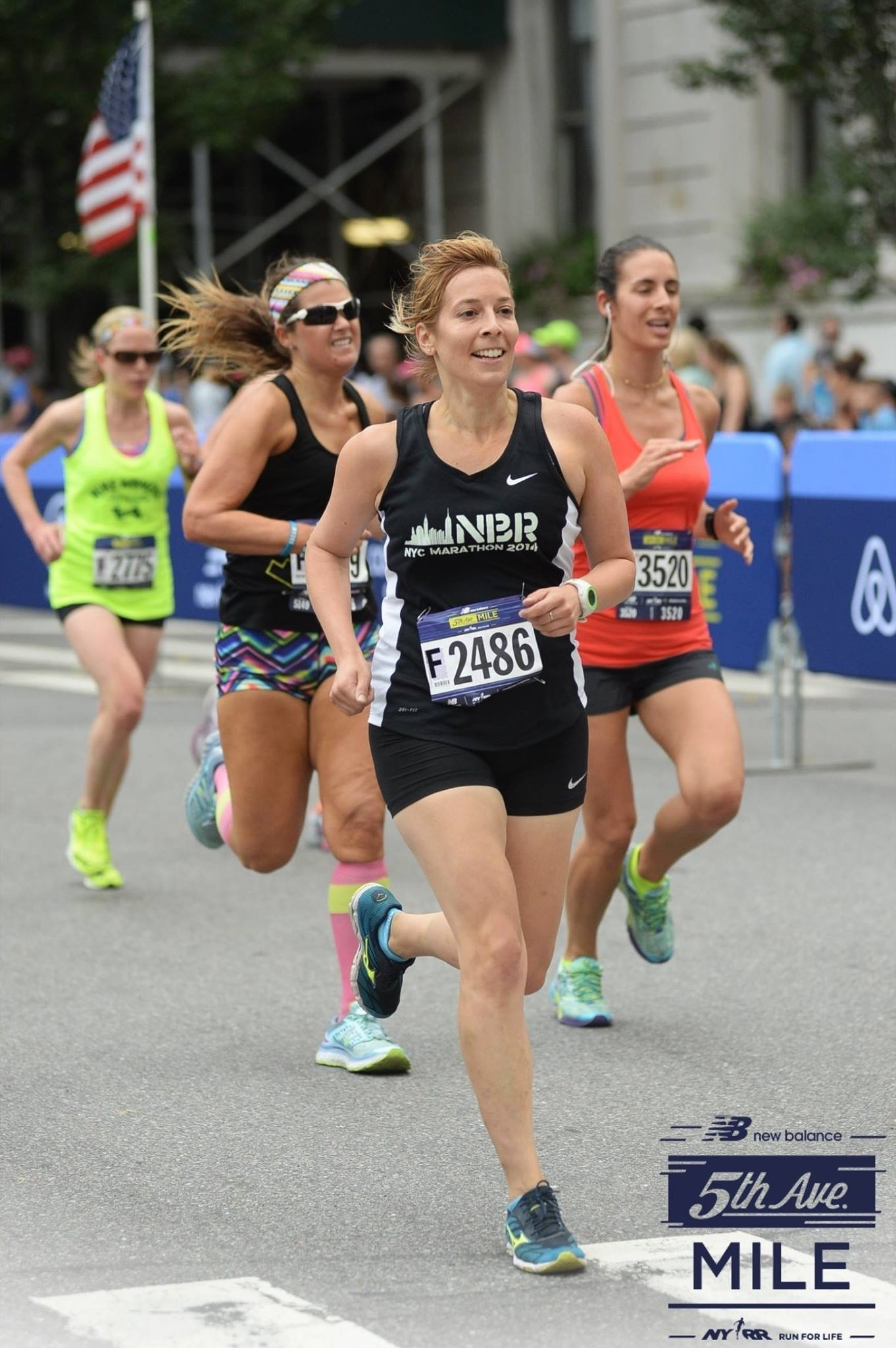 Running the Fifth Avenue Mile
