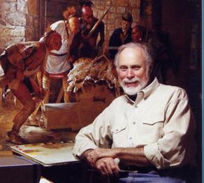 Robert Griffing in His Pittsburgh Studio