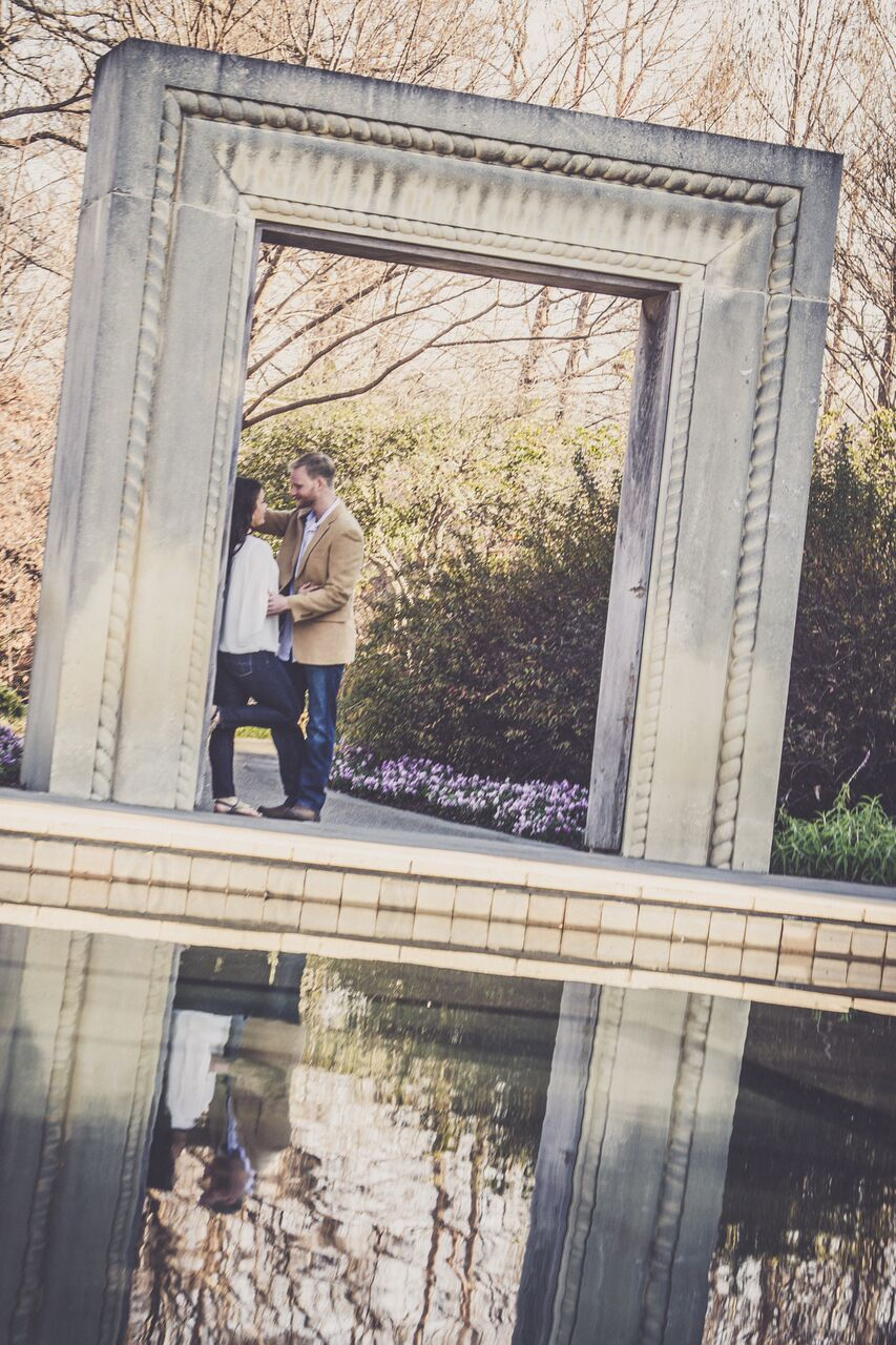 Engagement Session dallas arboretum