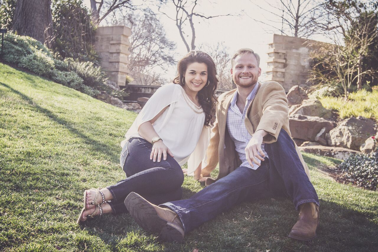 engagement shoot dallas arboretum