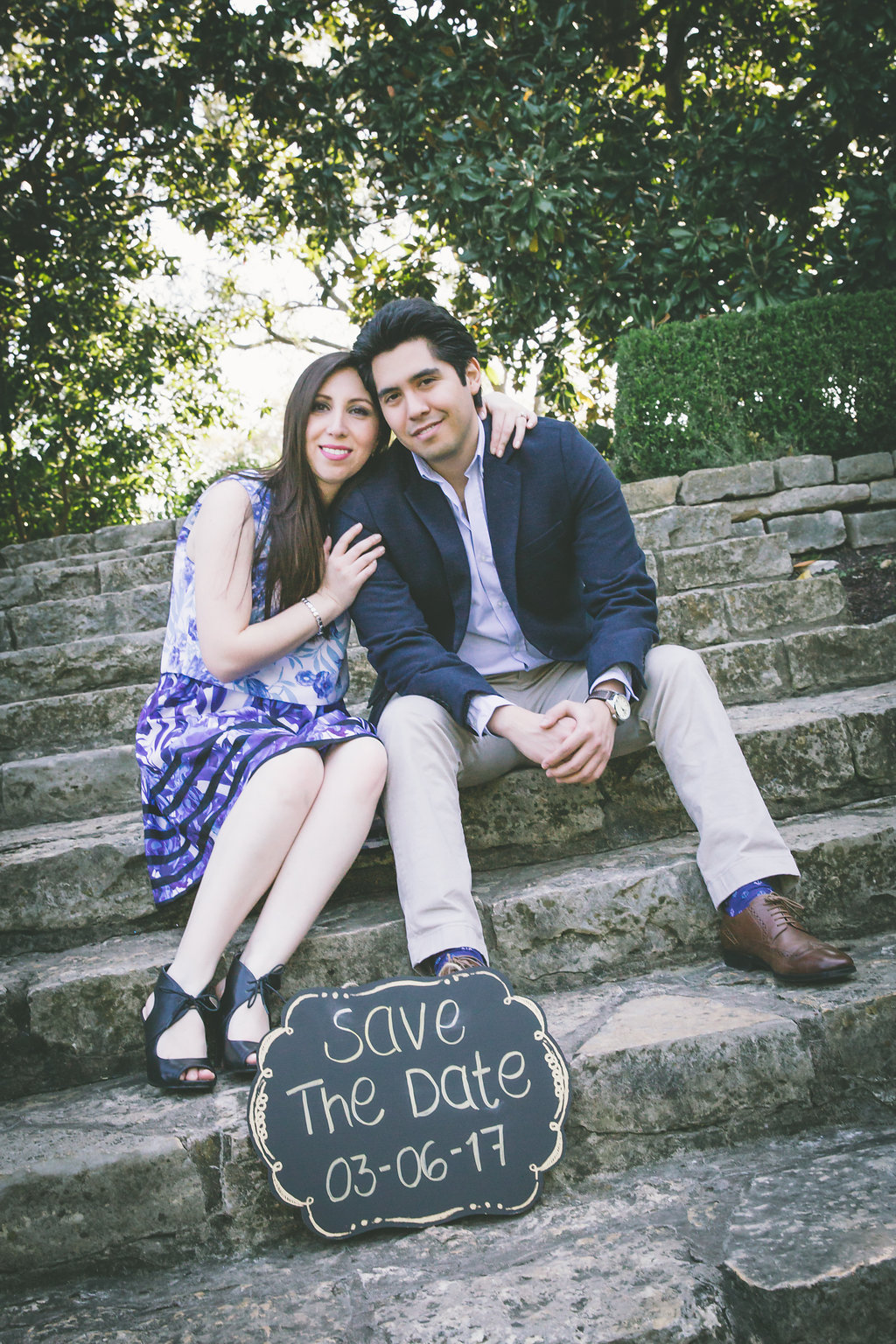 dallas arboretum engagement sessions