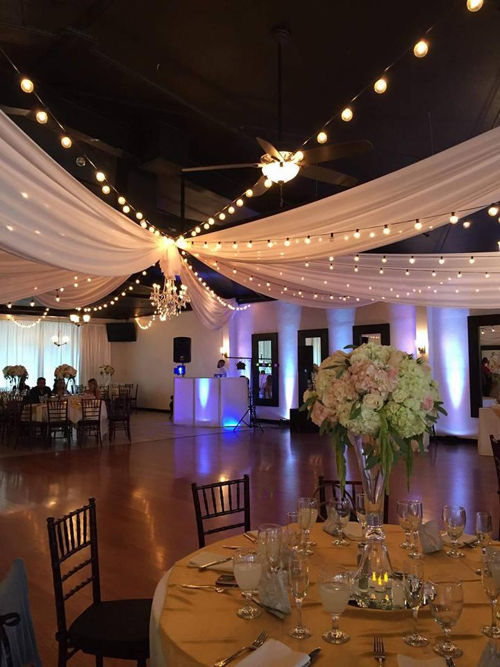 Reception held at Casa Bonita in Fullerton, California