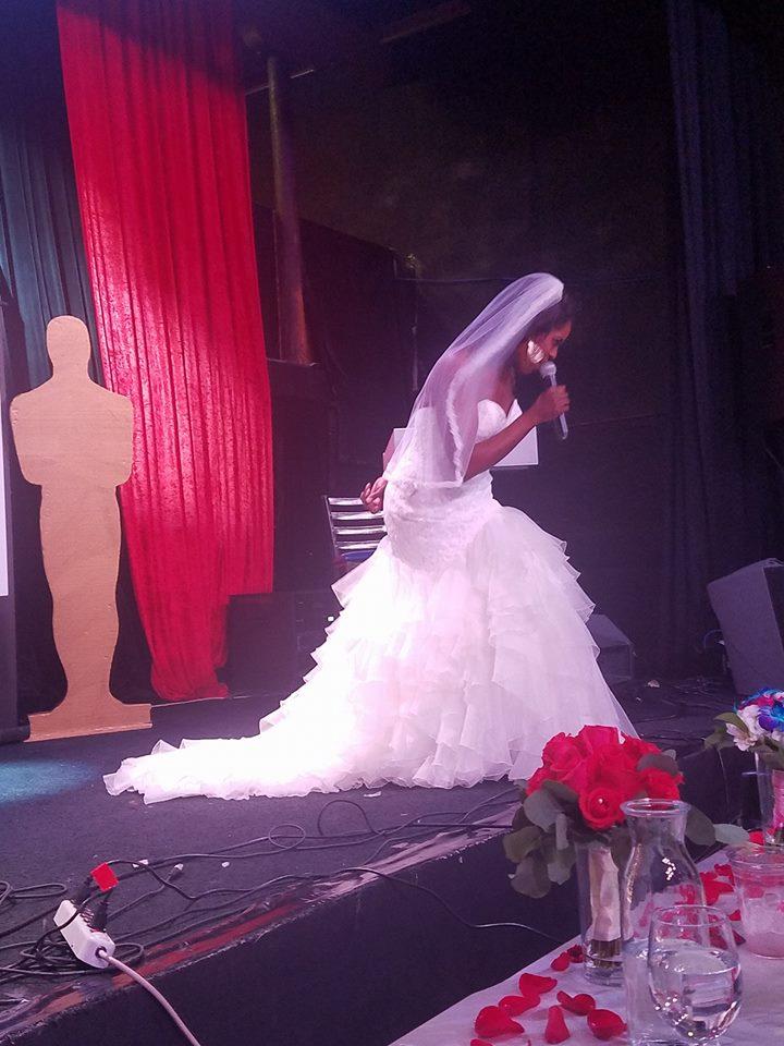 Creative I perfromance  Dress by Silhoutte Bridal