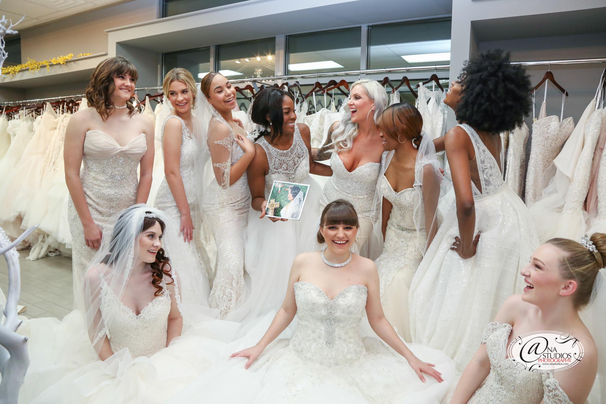 Photo by Ana Studios  Dress shop Silhoutte Bridal