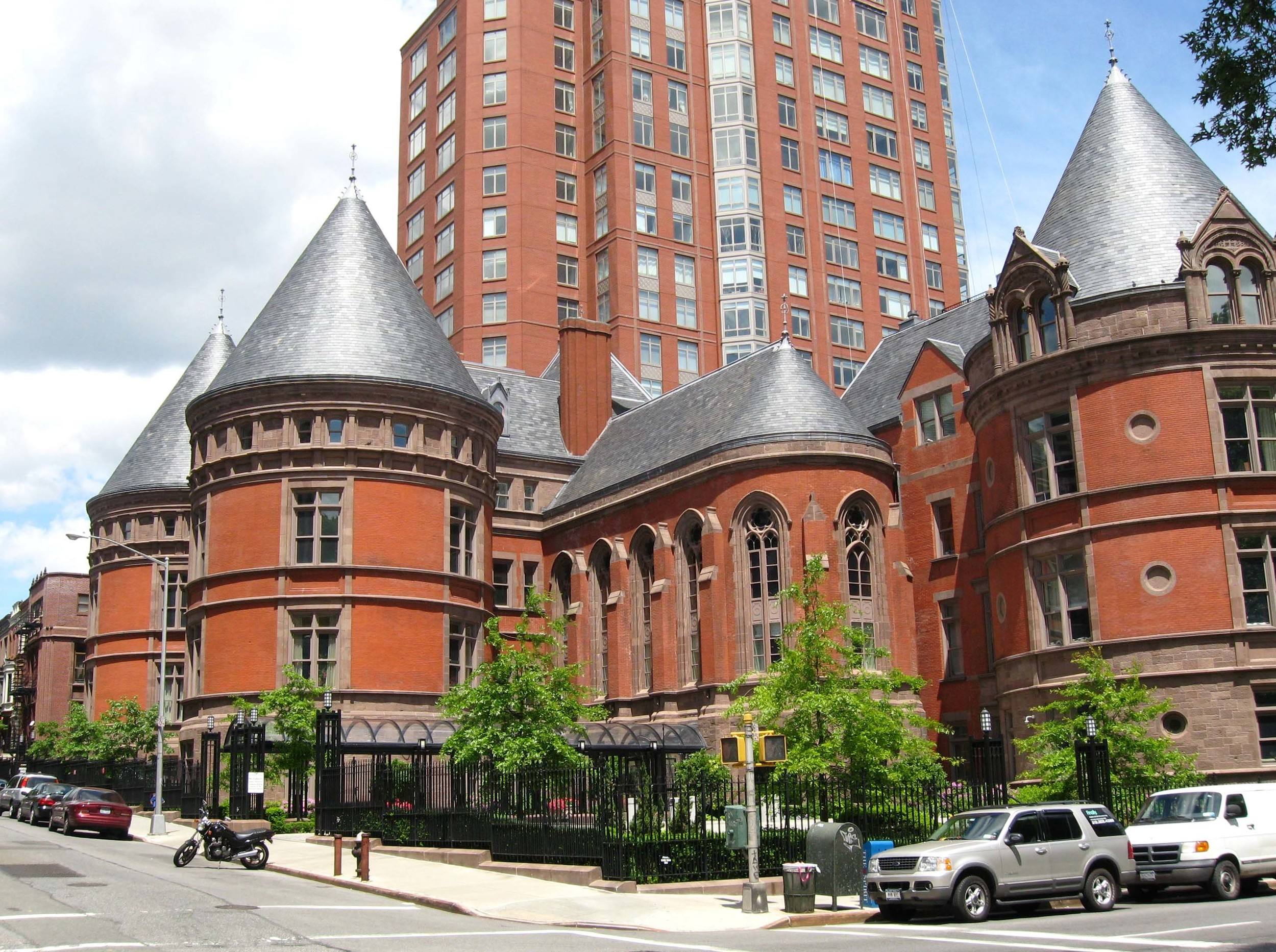 The country's first cancer hospital, New York Cancer Hospital, is at the end of our street as it was founded in 1884 to treat Ulysses S. Grant's throat cancer. It has now been redeveloped into luxury condominiums.