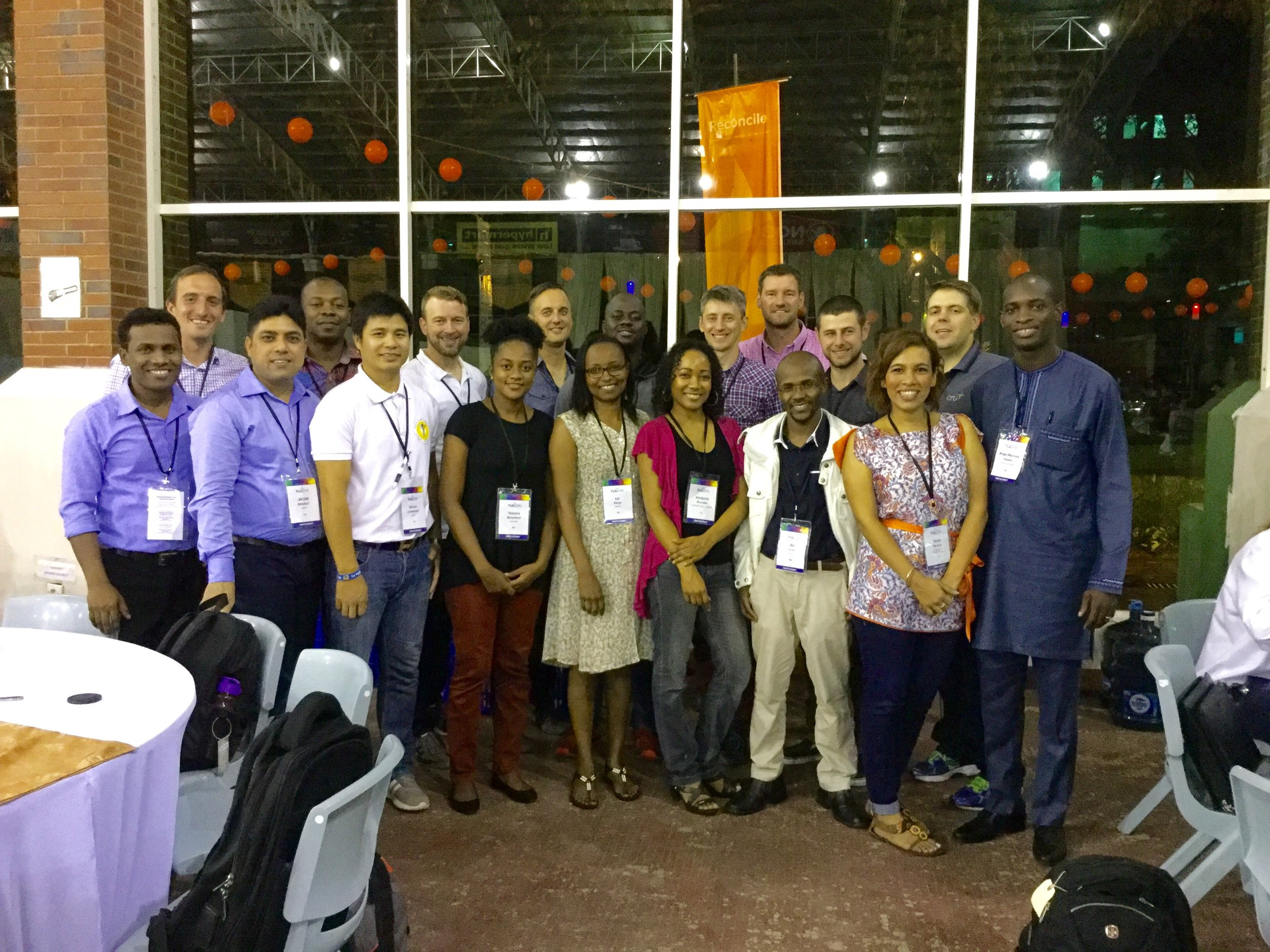 Cru staff from Nepal, India, Costa Rice, Trinidad and Tobago, Hungary, Romania, Australia, Canada, Kenya, Ghana,Nigeria and the United States (me) participated in the Lausanne Movement's Younger Leaders Gathering.
