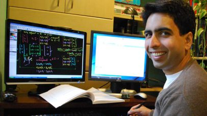 Salmon Khan, founder of Khan Academy, has delivered 240 million lessons over YouTube