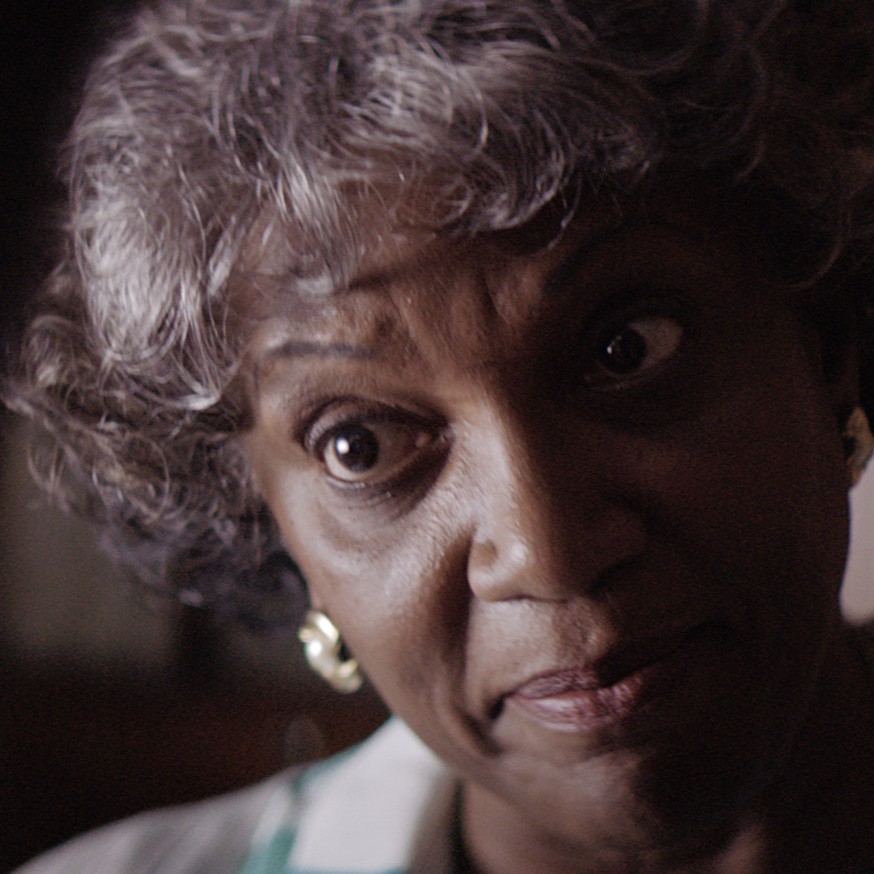 ANNA MARIA HORSFORD as Mrs. WalkerMrs. Walker is vibrant and full of life but she's also a recent widow and extremely lonely. She gladly welcomes the company of two strangers even though their intentions aren't pure. -