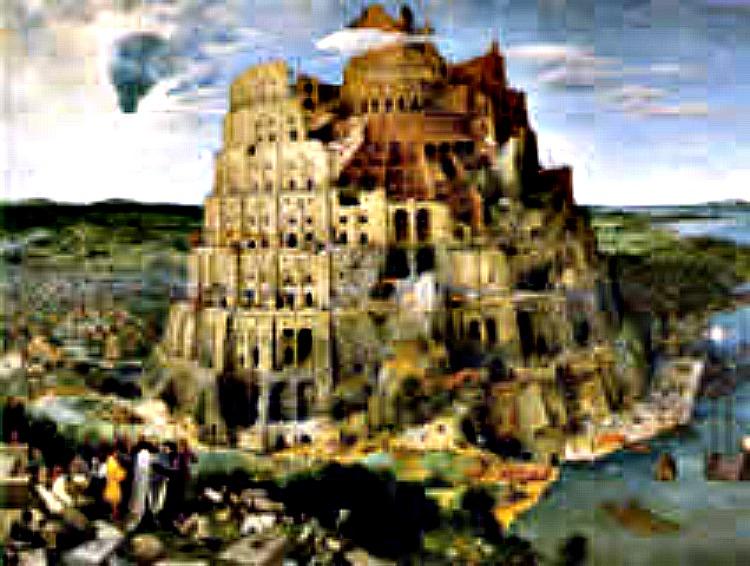 Pieter Bruegel the Elder,  The Tower of Babel , 1563, oil on panel, 114 × 155 cm