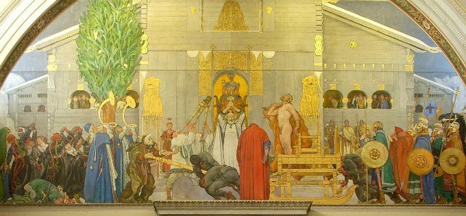 Midwinter's Sacrifice By Carl Larsson - Nationalmuseum (Stockholm), Public Domain, https://commons.wikimedia.org/w/index.php?curid=18614593