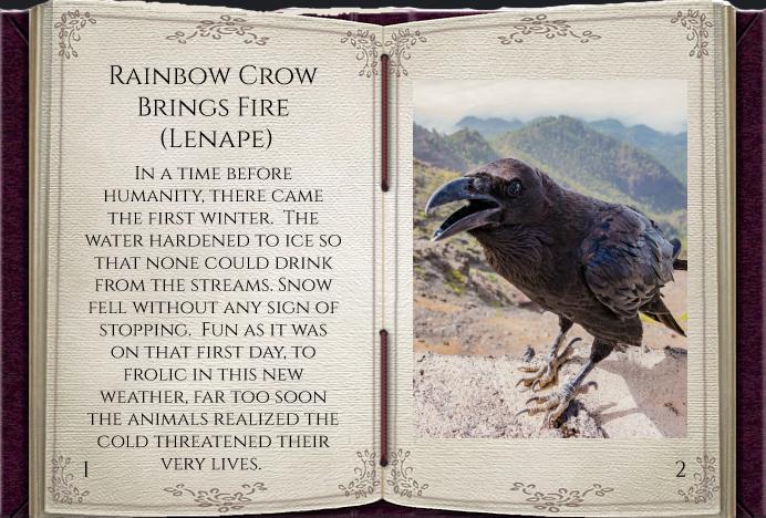 SL story rainbow crow pg1 npic.jpg