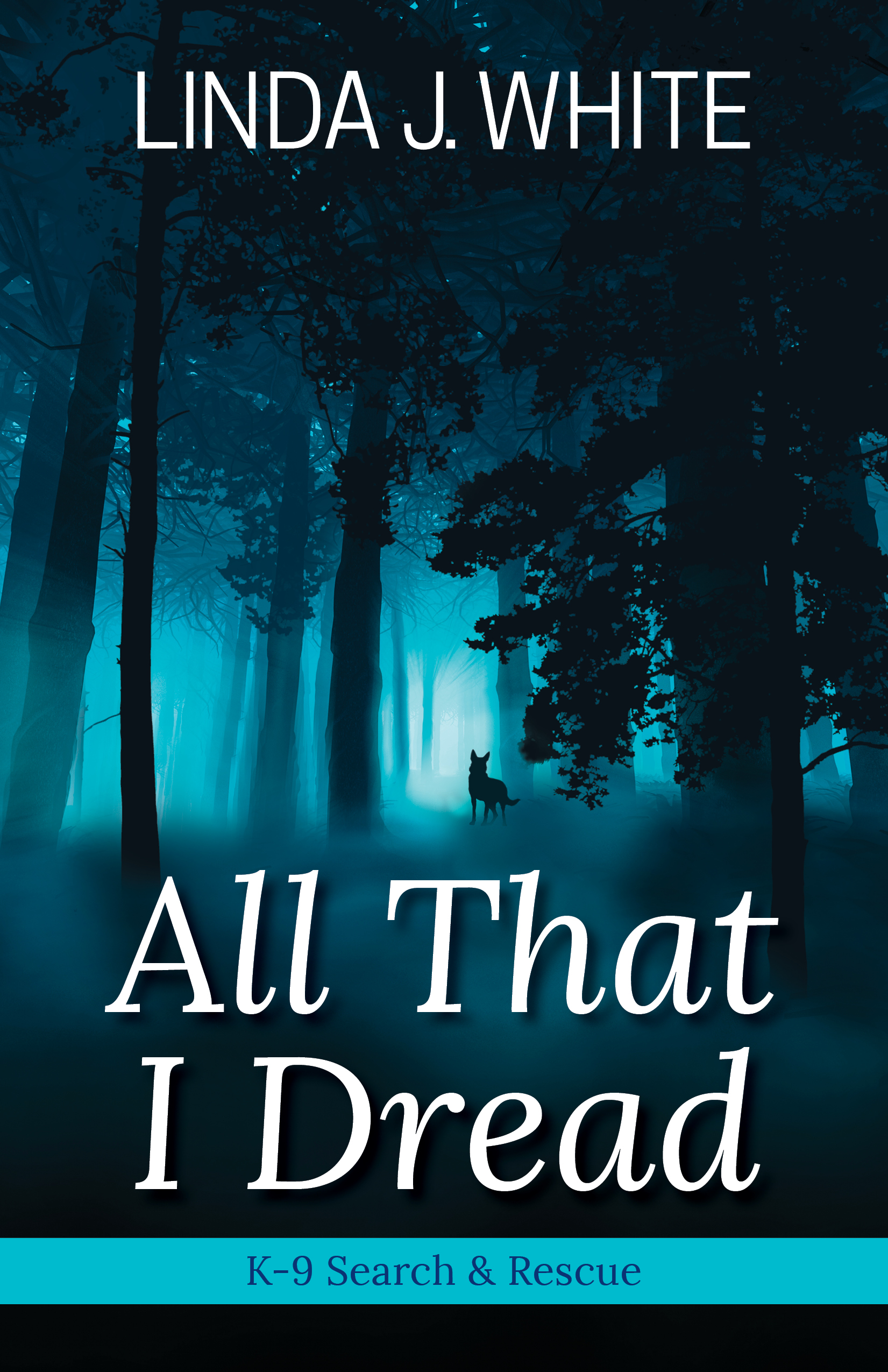 All That I Dread - After a tragic loss, Jessica Chamberlain changes jobs, moves, and adopts a rowdy German shepherd. The two begin training with a Virginia search-and-rescue group. The group's training director, Nathan Tanner, is a former military working dog handler with scars of his own and he quickly picks up on Jess's ongoing anxiety.After the unexpected discovery of a body in the woods, Jess and her dog and Nate are drawn into the FBI's search for an abductor targeting women. Tormented by her past and terrified of the future, Jess still forges ahead. Can the secrets of her late father give her the courage she needs to continue?