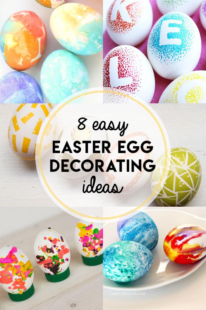 8 Easy Easter Egg Decorating Ideas Boston Mamas