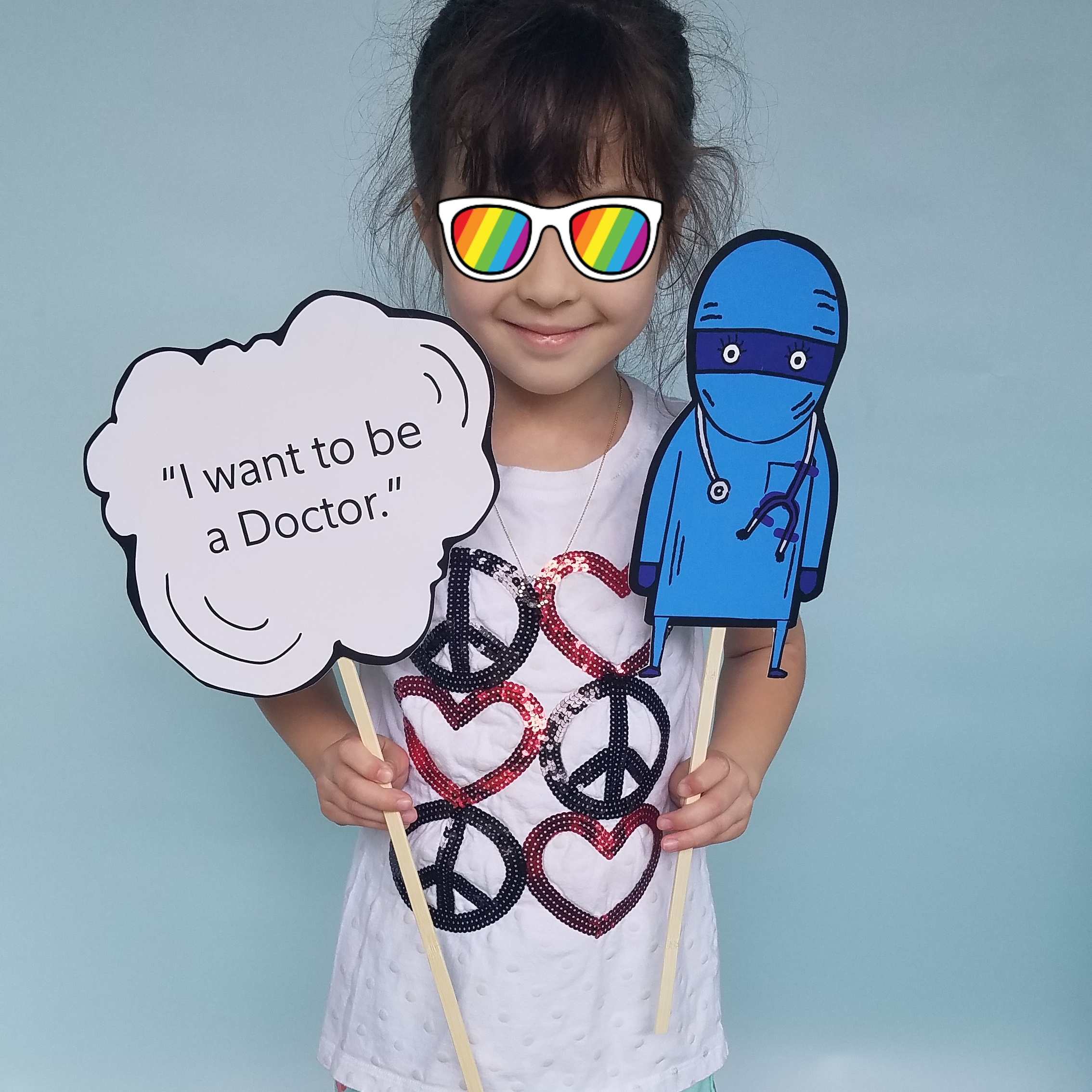 If Violet does, in fact, decide to become a doctor, I know my mom will be THRILLED.
