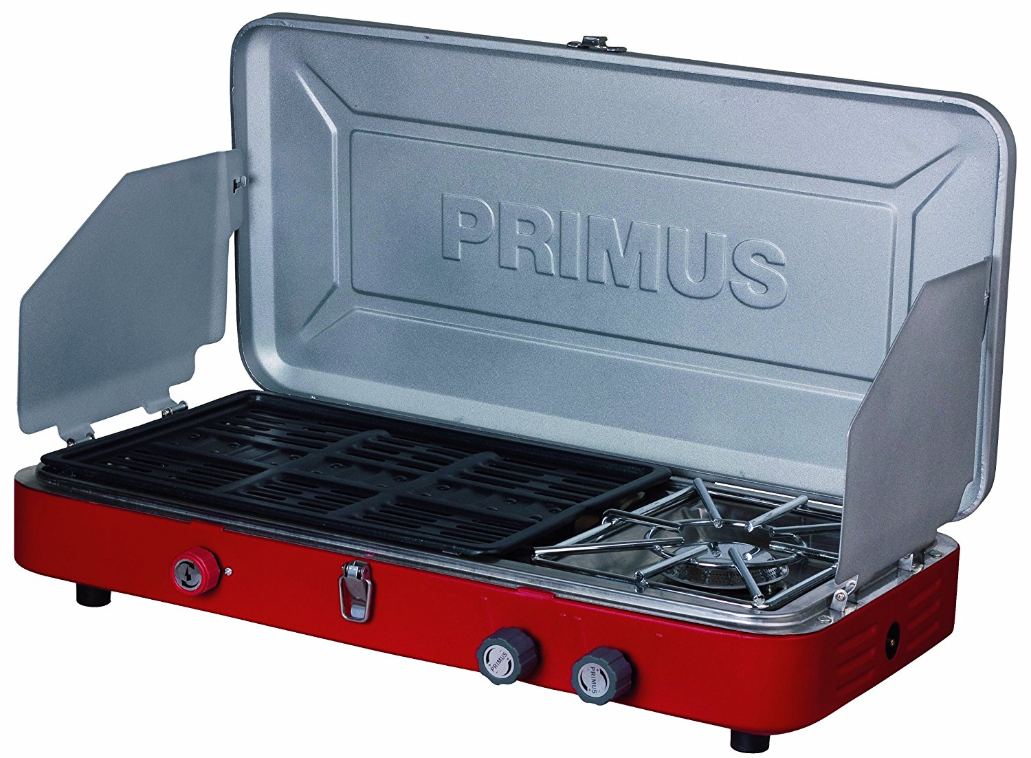 This Primus stove is easy to use on camping trips!