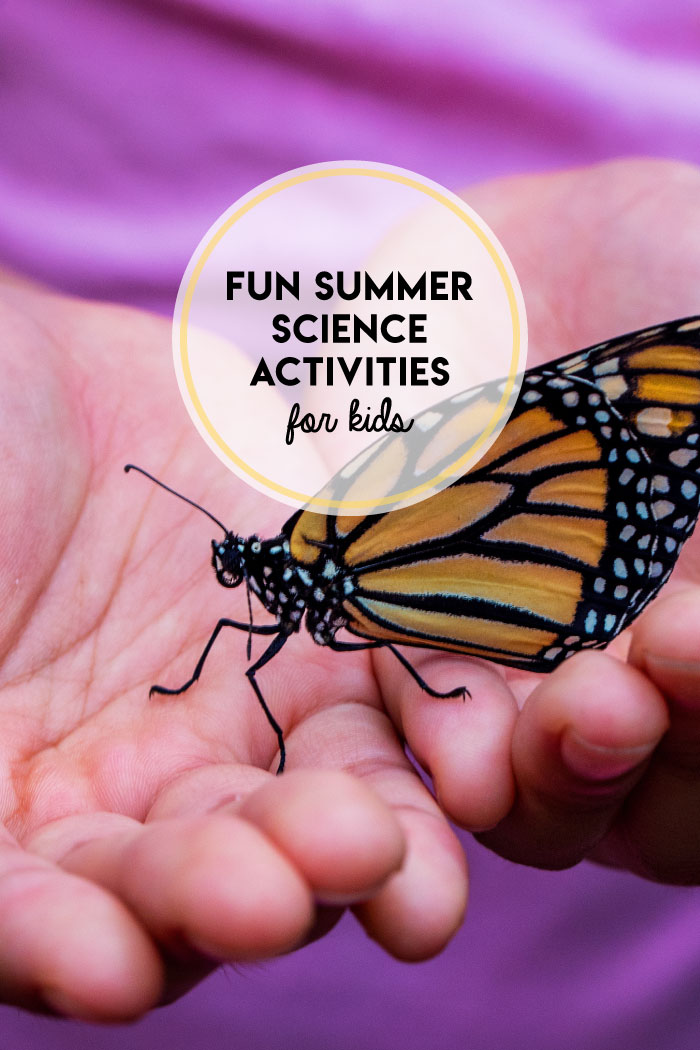 Try these simple kitchen and backyard science activities at home!