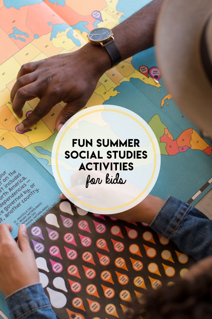 Keep social studies going during the summer via city and neighborhood opportunities!