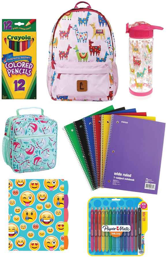 Violet is all about rainbows, animals, and emojis! Also, would it be weird if I started carrying a sloth lunchbox or llama backpack? SO AMAZING.