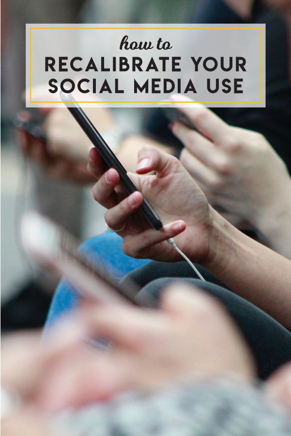 How to edit your social media use