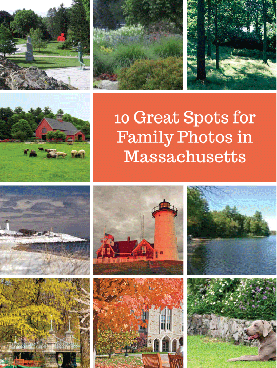 10 great spots for family photos in Massachusetts