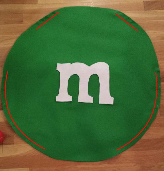 Easy M&M costume DIY