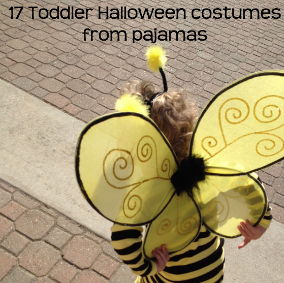 Use pajamas as a base for Halloween costumes!