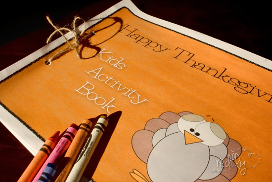 10 free Thanksgiving printables: Thanksgiving activity book