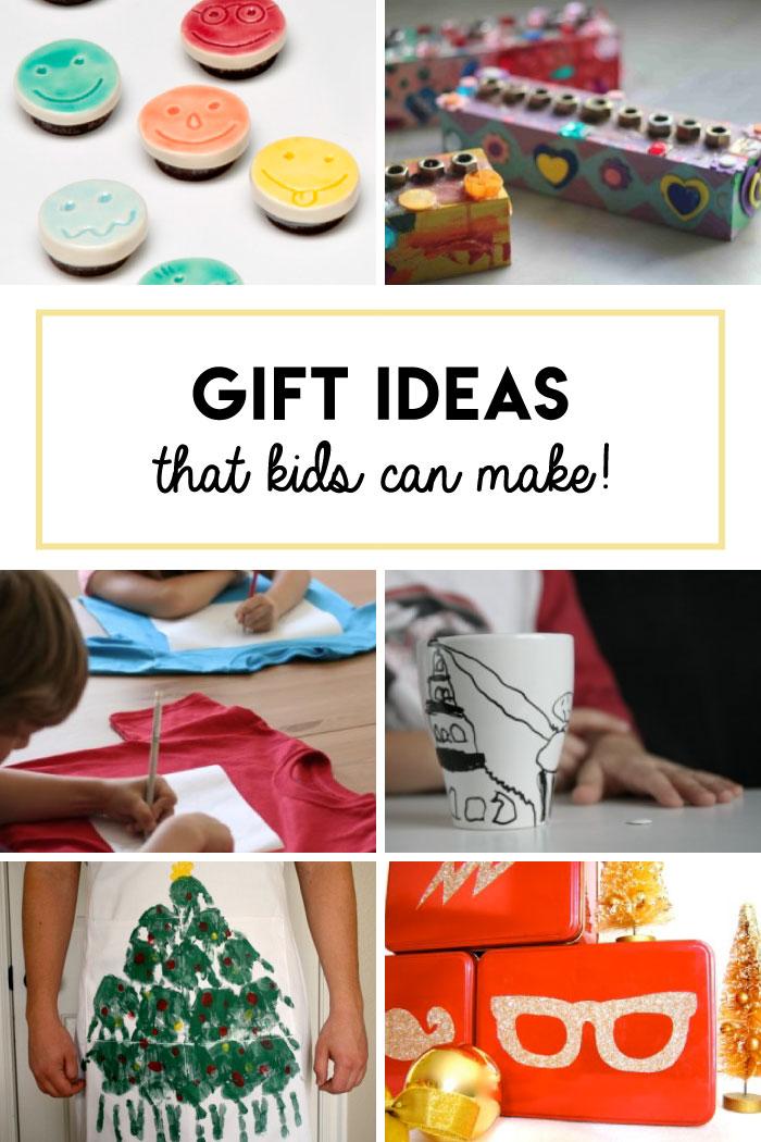 Fun gifts that kids can make