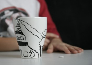 Drawn pottery kids can make