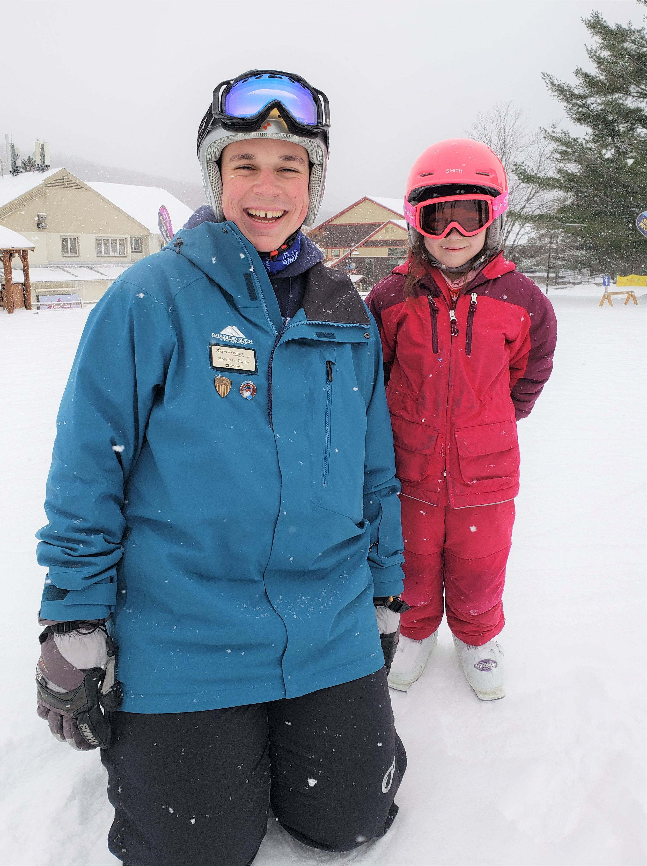 Kid lessons at Smugglers' Notch