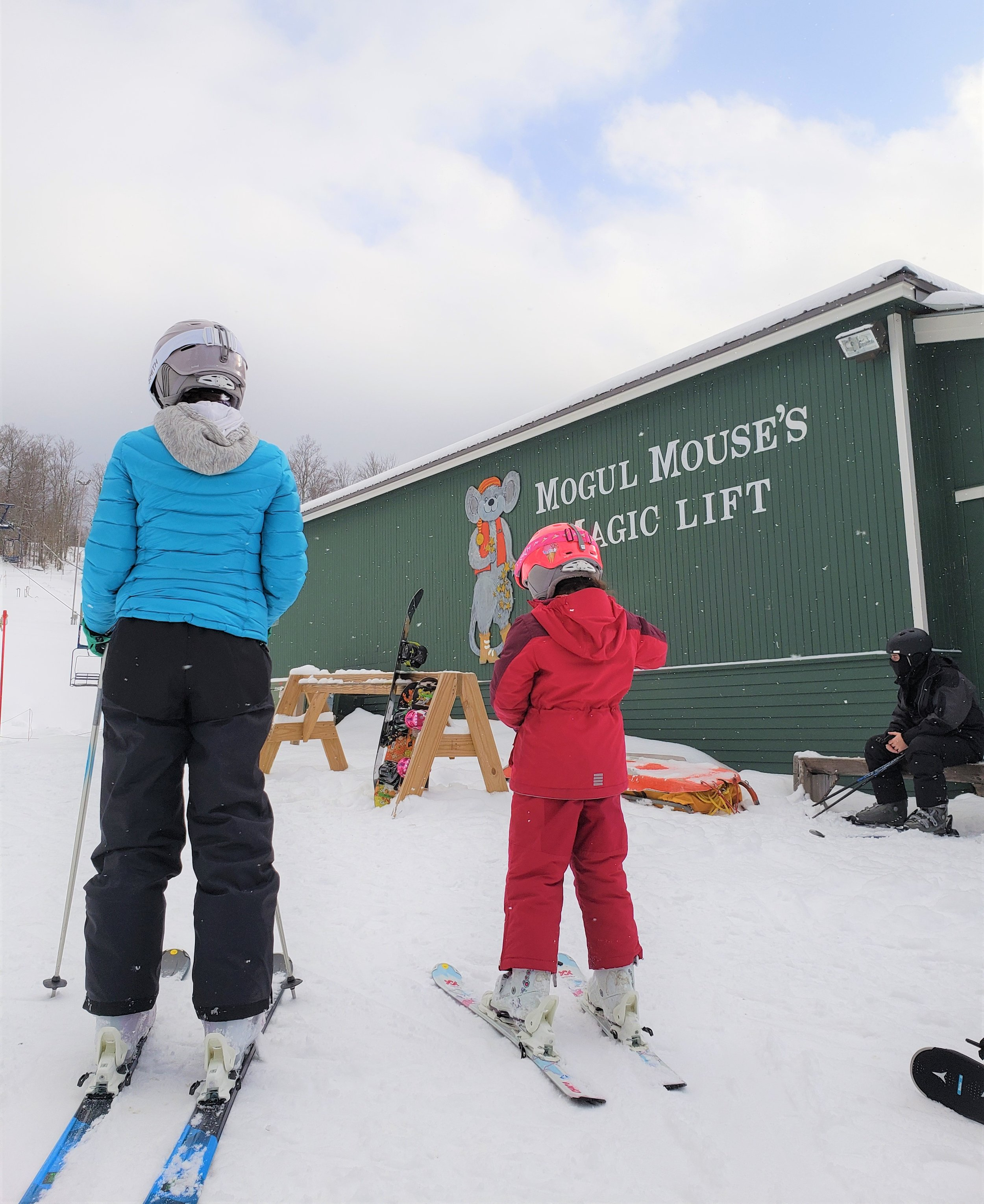 Mogul Mouse's Magic Lift at Smugglers' Notch