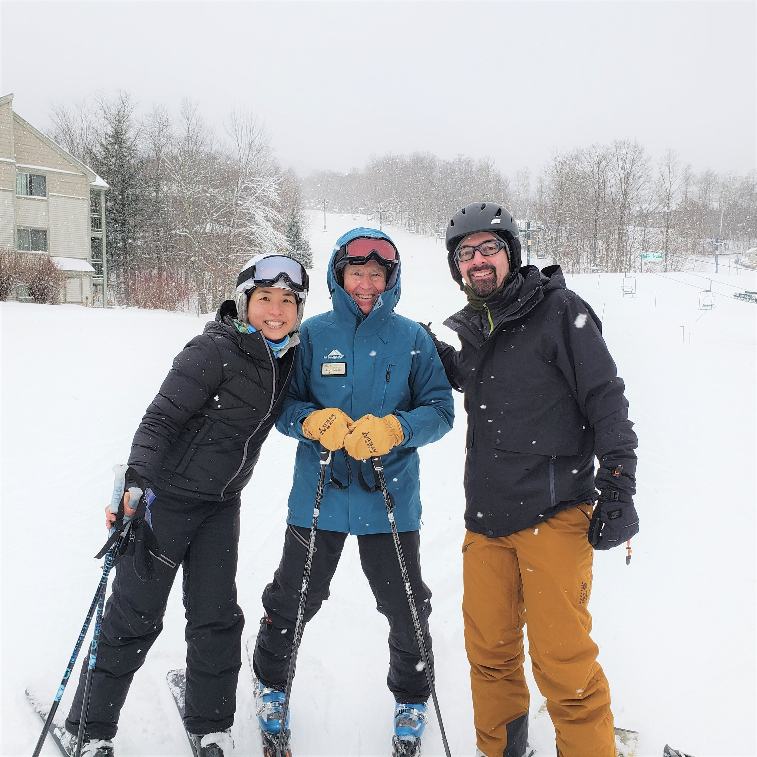 Adult lessons at Smugglers' Notch