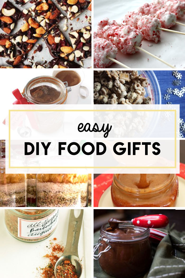 Easy homemade food gifts