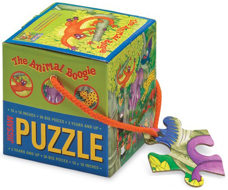 Animal Boogie jigsaw puzzle