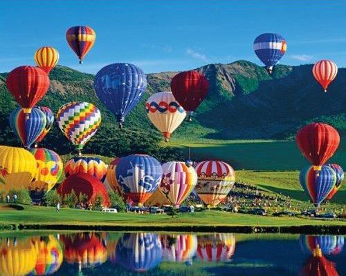 Springbok hot air balloon puzzle