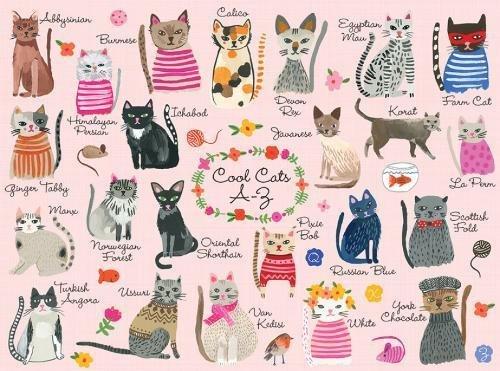 Mudpuppy Cool Cats puzzle