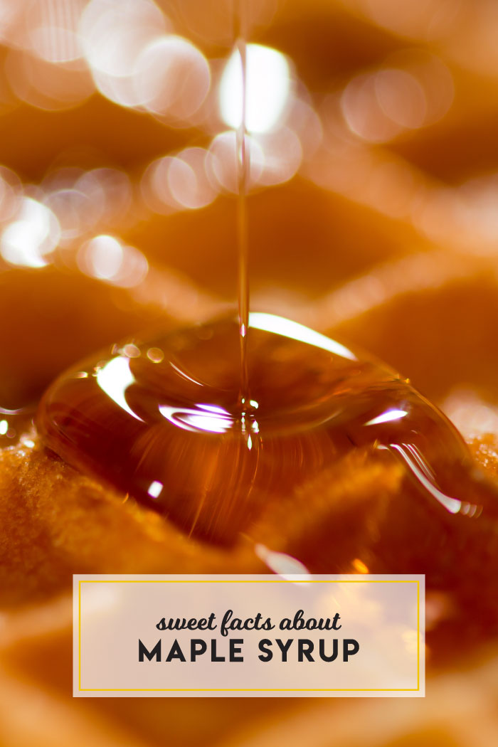 Sweet facts about maple syrup