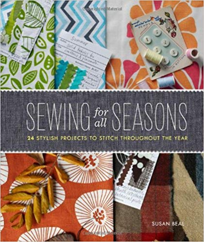 18 Awesome Craft + DIY Books: Sewing For All Seasons by Susan Beal