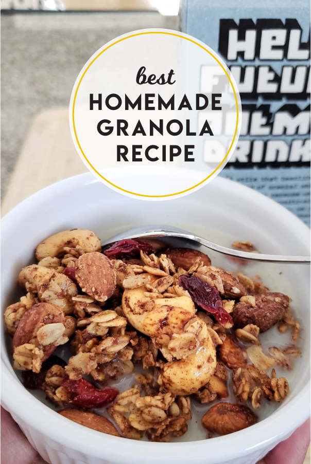 Best homemade granola recipe