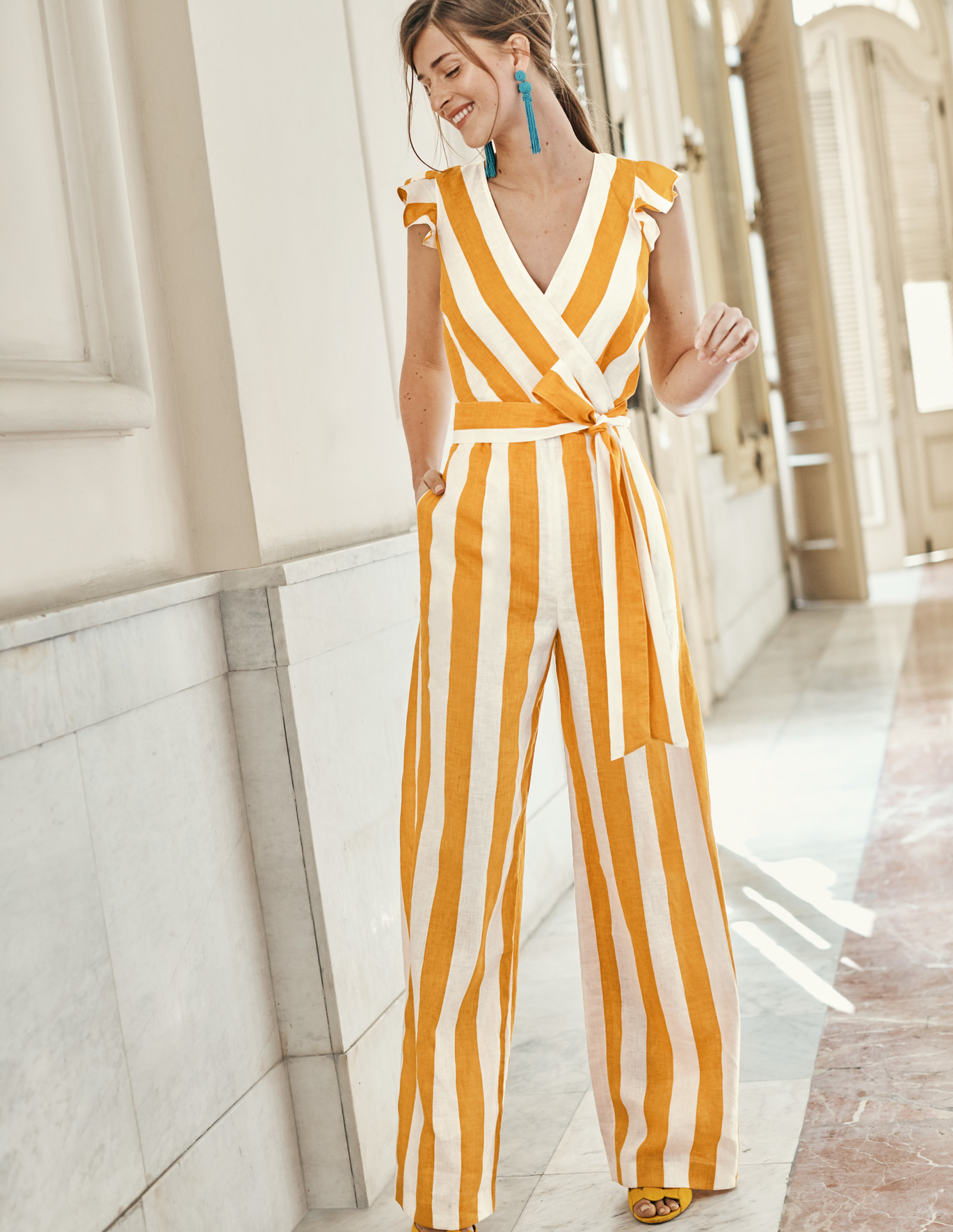 Mila jumpsuit; image by Boden