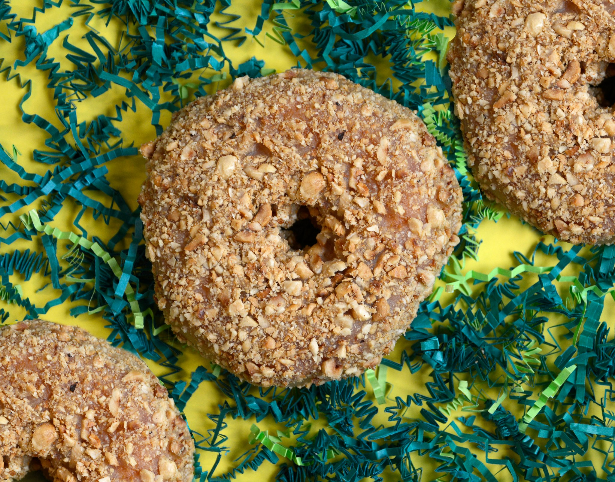 Brown Butter Hazelnut donuts; image via Union Square Donuts Facebook page