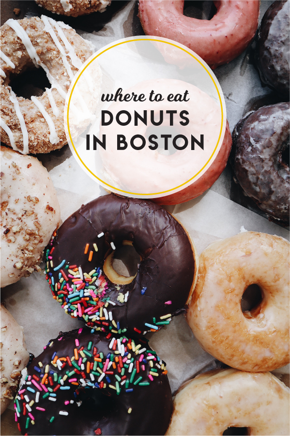 The best places to eat donuts in Boston!
